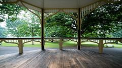 unfolding the view (keith midson) Tags: park wideangle launceston citypark pergola 14mm samyang