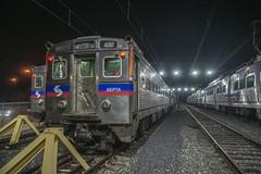 Resting in Doylestown (Nick Gagliardi) Tags: railroad electric train trains v doylestown septa mu iv spax silverliner