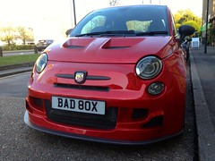 2010 Fiat Abarth 500C Romeo Ferraris Cinquone (mangopulp2008) Tags: fiat 500c romeo 2010 abarth ferraris 595 cinquone chippersfishandchips