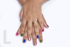 Mãos pro Carnaval (lirasphoto) Tags: carnaval unhas esmaltes unhascoloridas luizlira andréalira lirasphoto