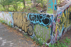 Nive, Grope, Ript (NJphotograffer) Tags: new graffiti md crew jersey dna riverwalk niver mhs hsc grope clout ript pdv nive ckd bumtrail
