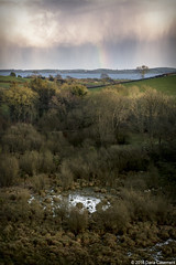 In the valley (dareangel_2000) Tags: weather landscape countryside twilight dusk january onthewayhome northernireland ni phenomenon 2016 codown dariacasement
