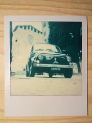Today as 1983 (MarioScaf) Tags: italy church polaroid italian fiat tuscany siena 500 fiat500 theimpossibleproject