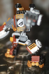 Tooth and Nail 6 (kyreii) Tags: lego mech steampunk moc mixels