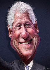 Bill Clinton - Caricature (DonkeyHotey) Tags: art face photomanipulation photoshop photo unitedstates president political politics cartoon manipulation caricature politician billclinton hillaryclinton campaign karikatur caricatura commentary politicalart karikatuur politicalcommentary 42ndpresident williamjeffersonclinton donkeyhotey