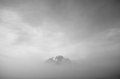 Mount Pilatus (SinoLaZZeR) Tags: blackandwhite bw mountain mountains nature fog schweiz switzerland blackwhite europa europe fuji luzern pilatus finepix fujifilm lucerne       x100