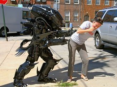 Brooklyn Alien (Brooklyn RobotWorks) Tags: nyc food monster brooklyn bug naked nude robot alien ridleyscott aliens beast comiccon redhook creater cannibal prometheus jamescameron cartwright xenomorph nostromo sigourney nycc lancehenriksen yaphet michaelbiehn skerritt lv426 robotworks peterkokis brooklynrobotworks