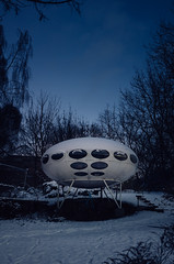 Futuro House (i like it! what is it?) Tags: finland futurism 1960s futurohouse mattisuuronen futurohaus