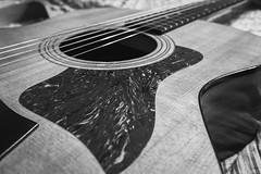37 of 365 - Taylor (ScottMPhotos1) Tags: blackandwhite guitar taylor mirrorless 365project micro43 lumixlounge panasoniclumixg7