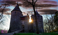 Castel Coch (G.B.Photography) Tags: winter sunset sun southwales wales nikon flickr afternoon walk united cardiff kingdom lan sou castel coch arhitektura outdor landscapeseascape sescape grazynaphotography