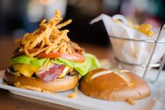 (Leonid Yaitskiy) Tags: light food nikon natural bokeh burger united uae meat emirates arab nikkor 50 abu dhabi tgif triple 1000 kcal leonid d610 iaitskyi