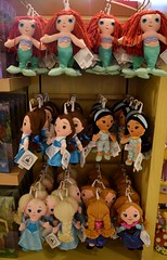 Disneyland Visit - 2016-01-17 - World of Disney - Princess Dept. - Small Plush - Wide View (drj1828) Tags: california anna ariel doll princess disneyland jasmine small visit disney plush belle anaheim dlr elsa ragdoll downtowndisney 2016 worldofdisney disneyparks