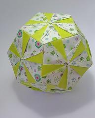 Dodecahedron (modular.dodecahedron) Tags: dodecahedron modularorigami tomokofuse edgemodule