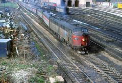 Amtrak E9 407 (Chuck Zeiler) Tags: railroad train amtrak locomotive 407 e9 chz emd