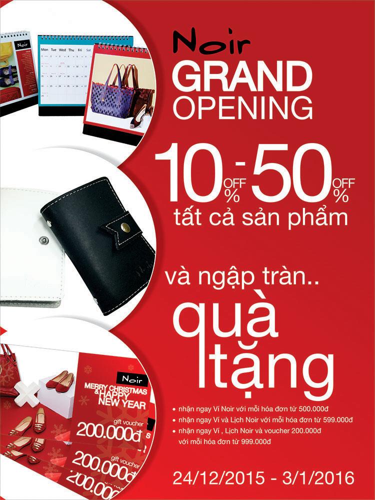 Noir Tưng Bừng Khai Trương cửa hàng mới tại Vincom Thảo Điền, Q2, TPHCM