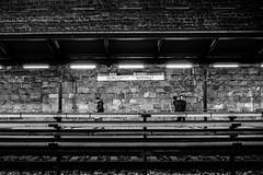...metamorphosis... (ines_maria) Tags: wien light blackandwhite bw motion monochrome contrast underground austria licht stadthalle metamorphose bewegungsunschrfe urbanloritzplatz u6 burggasse