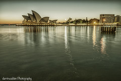 Circular Quay, Sydney (darrinwalden Photography) Tags: water grey dawn harbor opera harbour grunge gray grain sydney australia landmark dirty