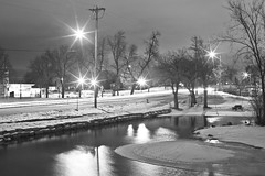 028/366 (local paparazzi (isthmusportrait.com)) Tags: longexposure trees winter blackandwhite bw white black blancoynegro blanco night 50mm prime evening pod lowlight aperture downtown darkness f14 bare empty negro grain usm madisonwi noise iso1600 slowshutterspeed vast 2016 isthmus 50mmf14usm danecountywisconsin 366project canon5dmarkii localpaparazzi redskyrocketman lopaps isthmusportrait