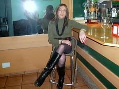 At the restaurant (Alessia Cross) Tags: tgirl transgender transvestite crossdresser travestito