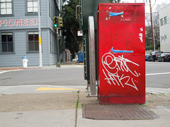(gordon gekkoh) Tags: sanfrancisco graffiti eric htk