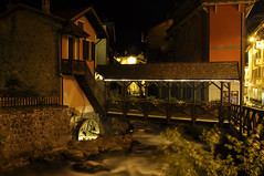 Ponte di Legno by night (stefano.chiarato) Tags: italy ponte acqua montagna lombardia notte legno torrente