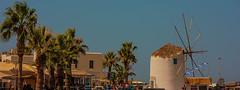 Paros island, Cyclades Greece (kostaschrstdls) Tags: blue summer white windmill architecture canon landscape island mediterranean wind aegean hellas greece palmtrees grecia paros cyclades egeo aegeansea canonphotography greeksislands cycladesaegean