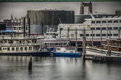 Urban Boatyard (PAJ880) Tags: boston skyline ma harbor terminal oil riverboat charlestown tug tanks vessels boatyard