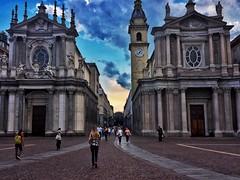 Piazza San Carlo - Torino (giuse.cava96) Tags: city italy church torino italia place centro chiesa turin piazzasancarlo sancarlo centrecity torinocentro