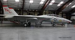 Grumman F 14A Tomcat ~ 160684 (Aero.passion DBC-1) Tags: museum plane tucson aircraft aviation muse pima preserved avion airmuseum tomcat grumman airspacemuseum f14a aeropassion musedelair dbc1 prserv 160684