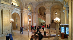 Main lobby New York Public Library, 2-6-2016 (kovno) Tags: nyc newyork library manhatten