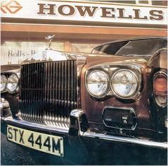 Howells advertisement 1975 (francis3351) Tags: cardiff rollsroyce stx444m