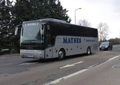 M17 YNE (Cammies Transport Photography) Tags: road england bus scotland coach edinburgh rugby v van specials m17 corstorphine hool maynes yne alicron m17yne