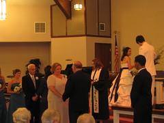 Britt & Chris's Wedding: The Ceremony (Brittany Neigh) Tags: chris laura ceremony val becky deborah vic roger britt niles renewingvows regesterchapel lipinskineighwedding brittandchrisgetmarried pastorteresa