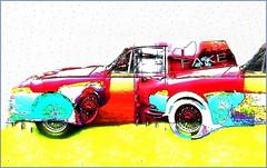 Jaguar Vans.....Perhaps Not (Joe Vance aka oliver.odd) Tags: light color geometric digital mannequins mirrors surreal manipulation east clones ideas cellmates tripping not lightyearselopedwarriorsfacesjaguar vanperhaps