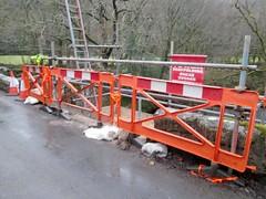 Holne Bridge Damage Dartmoor (Bridgemarker Tim) Tags: damage dartmoor holne devonbridges