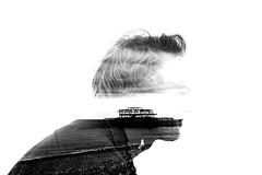 Joshua Young (Joanna Walton) Tags: photography brighton photographer doubleexposure double multipleexposure westpier actor response brightonpier incamera nikond5200 danielmountford