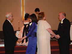 Britt & Chris's Wedding: The Ceremony (Brittany Neigh) Tags: chris laura ceremony becky vic roger britt renewingvows regesterchapel lipinskineighwedding brittandchrisgetmarried pastorteresa