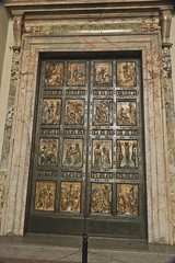 A2821VATb (preacher43) Tags: door italy pope vatican rome building history st architecture basilica entrance structure peters