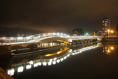 Nanaimo, Vancouver Island, Canada at Night (Tamas V) Tags: park longexposure travel bridge light reflection travelling night vancouver reflections lumix prime lights evening long exposure apartment pacific image britishcolumbia stock olympus nanaimo columbia victoria panasonic traveller vancouverisland pacificocean micro highrise getty british pan pancake 20mm traveling istock pacificcoast gettyimages omd oly stockphoto traveler stockphotography travelphotography panny f17 m43 mft stockimage em5 stockphotograph mirrorless 20mmf17 panasonic20mmf17 panasonic20mm olympusomd olympusomdem5 omdem5