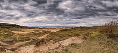 Merthyr Mawr Sand Dunes (richwself) Tags: uk sea sky panorama beach clouds rural spring cloudy sanddunes valeofglamorgan merthyrmawr fujinonxf1855mmf284rlmois fujifilmxpro2 merthyrmawrnationalnaturereserve