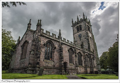 St James the Great, Cheshire (Paul Simpson Photography) Tags: uk windows england building tower church architecture clouds cheshire religion photosof imageof gawsworth photoof stjamesthegreat imagesof sonya700 august2011 paulsimpsonphotography