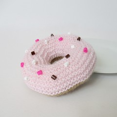 Donuts (Knitting patterns by Amanda Berry) Tags: pink food amanda cakes cake toy toys berry knitting pattern play handmade patterns crafts knit free fluff donuts donut doughnut knits knitted doughnuts crafting fuzz knitter knitters ravelry