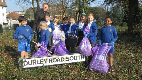 St.Michael's School Litter Pick March 11, 2016
