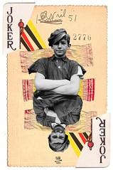 Leo & Pipo, by Dani Darko (Leo & Pipo) Tags: street portrait paris france art collage illustration digital vintage paper french design mixed artwork media graphic leo cut paste surreal dani retro dada pipo papier imaginary darko imaginaire leopipo