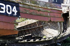 no longer fit for purpose (friendlydrag0n) Tags: ocean sea boat ship vessel beached nautical hull hulk wreck wrecked decayed holed