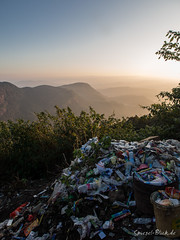 Garbage at a sacred place (Ineound) Tags: macro nature landscape four garbage spiegel natur disposal olympus collection pollution micro environment srilanka makro landschaft blick omd thirds 1250 m43 mft 1250mm em5 f3563 spiegelblick microfourthirds 43 spiegelblickde olympus1250mmf3563 olympusm1250mmf3563 mzuikodigitaled1250mmf3563ez olympus1250mm mzd1250 spiegelblickde