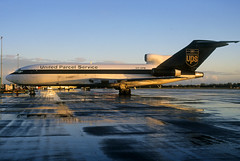 OY-UPM  B727-31C  United Parcel Service (n707pm) Tags: ireland airplane airport aircraft slide cargo scan ups airline boeing dub freight freighter dublinairport 727 unitedparcelservice b727 102000 eidw 727f oyupm cn19229