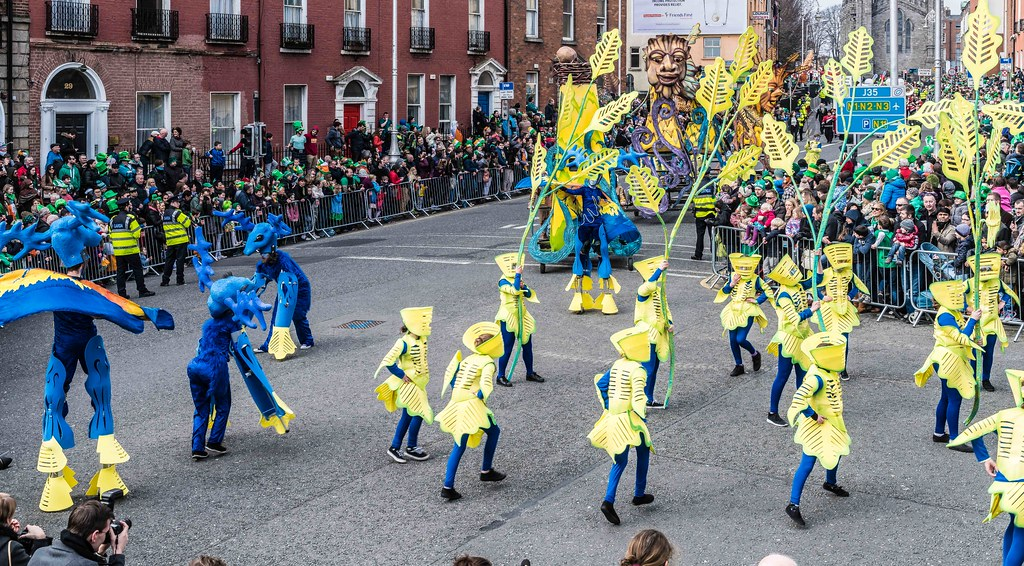 Dowtcha Puppet's At The St.Patrick's Parade [Dublin 2016]-112499