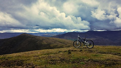 Peña Cuervo (JLL85) Tags: españa mountain green nature bike clouds landscape cycling spring view adventure riding biking cantabria aventura