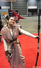 2016 C2E2 18 Rey with Terry (Cosmic Times) Tags: star cosplay terry times wars cosmic cronin c2e2